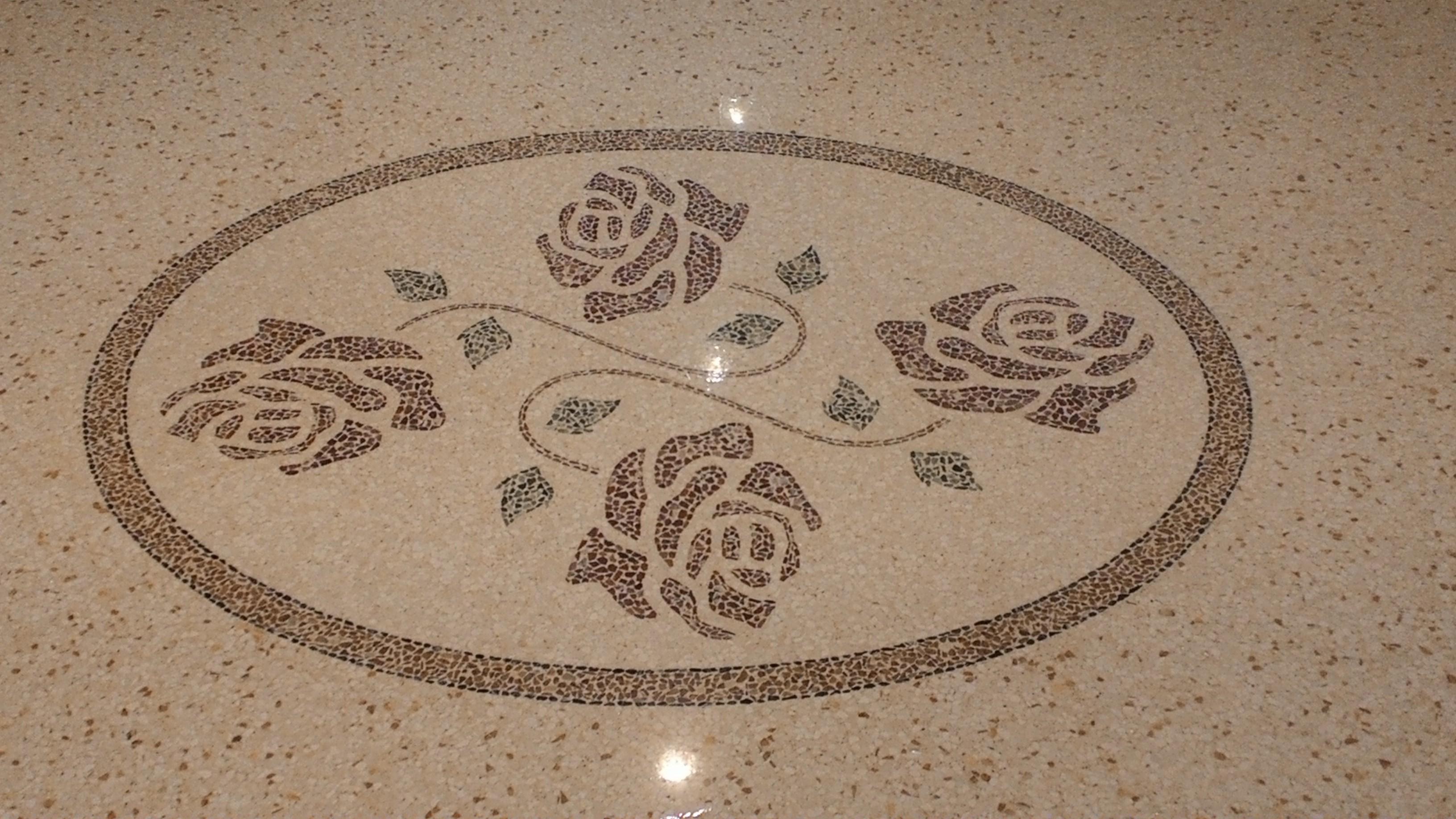 Pavimenti alla veneziana in marmo per esterni, interni Vicenza