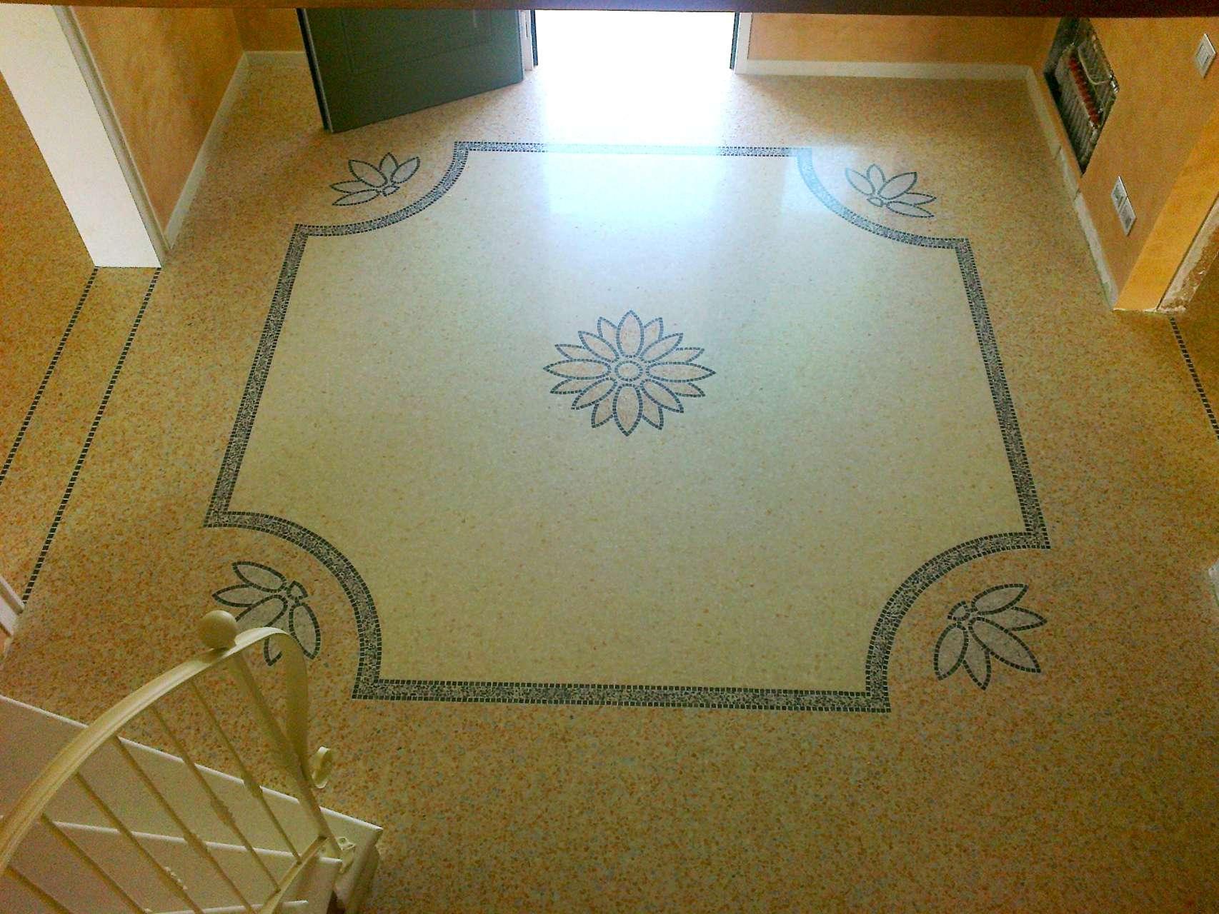 Realizzazione e posa pavimenti in marmo alla veneziana lonigo